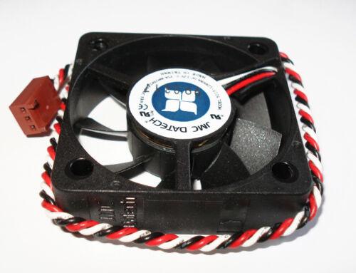 2 JMC Dell 5215-12HHBA Server Case CPU Fans 12V 0.35A 52mm x 15mm Ball Bearing