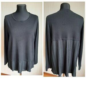 Persona by Marina Rinaldi women's black sweater Sz.M