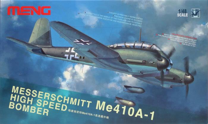 Meng Model LS-003 1 48th scale  Messerschmitt Me-410a-1 High Speed Bomber