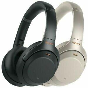 Sony-WH-1000XM3-Casque-Supra-auriculaire-sans-fil-Argent-Noir