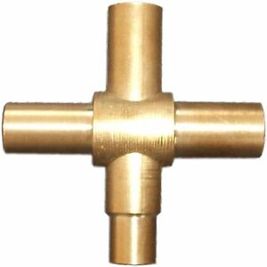 Kinetic GARDEN TAP 15mm DR Rough BRASS Made Approval Watermark Outdoor Use
