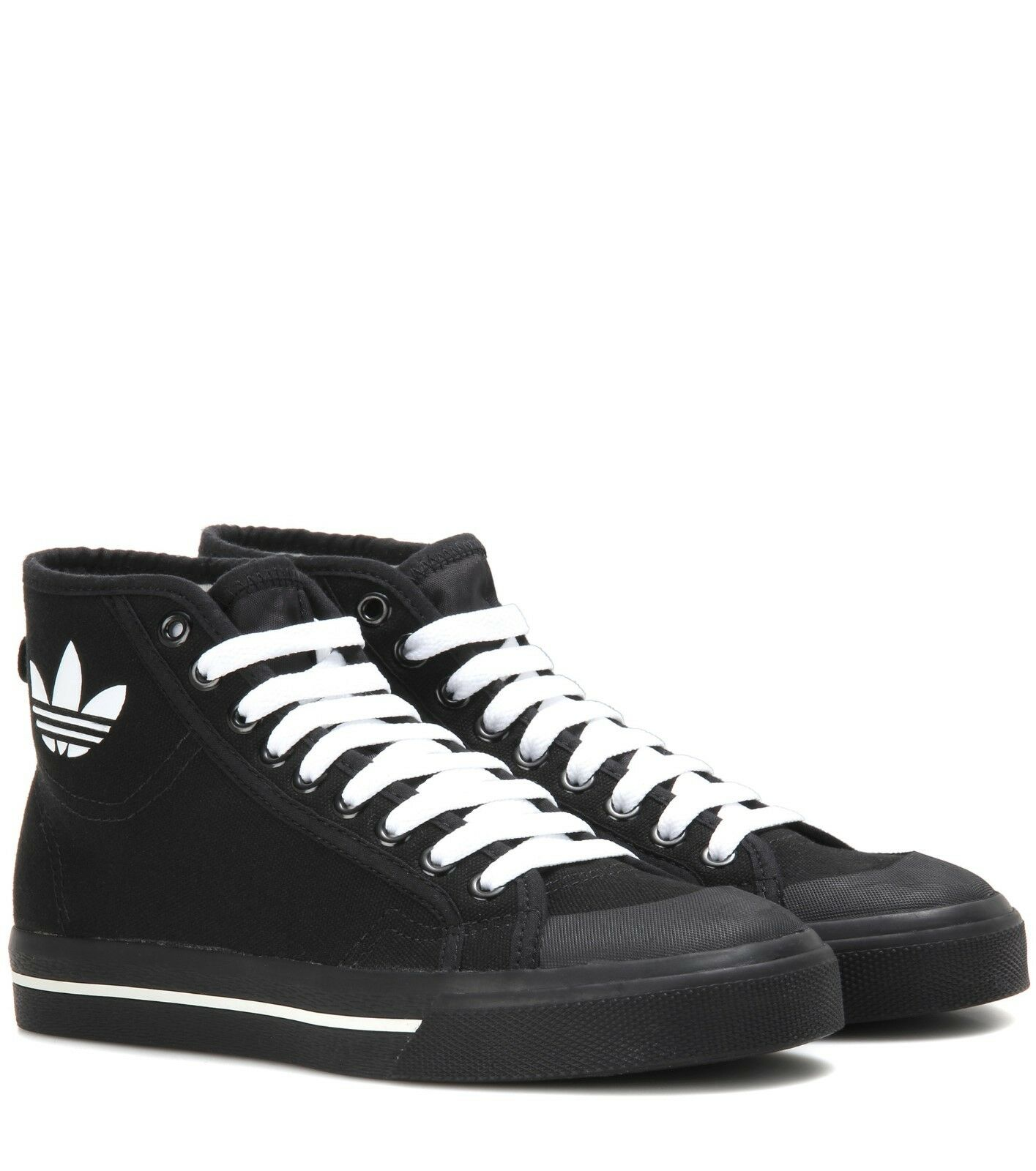 ADIDAS ORIGINALS BY RAF SIMONS LTD HIGH-TOP Turnschuhe SCHWARZ 40,5 NP 245,- UK 7,5
