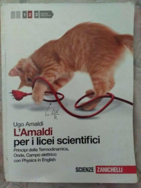 978-8808136398Amaldi per i licei scientifici. Con Physics in english. Con espan