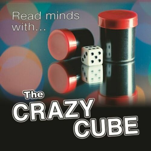 CRAZY CUBE BY MAGIC MAKERS TRICK GIMMICK MIND READING MENTALISM NOVELTY DICE KID