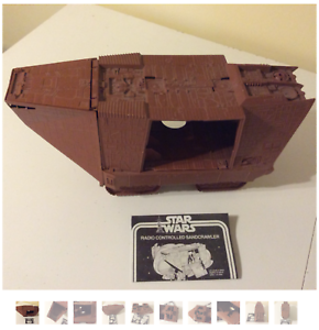 VINTAGE-1979-STAR-WARS-JAWA-SAND-CRAWLER-KENNER-RARE-amp-MUST-HAVE-ITEM