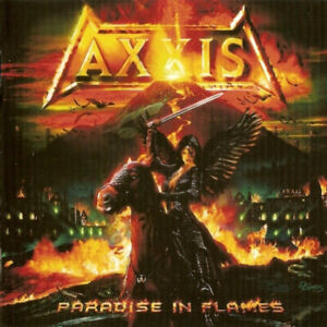 Axxis-Paradise-dans-Flames-CD-NEUF
