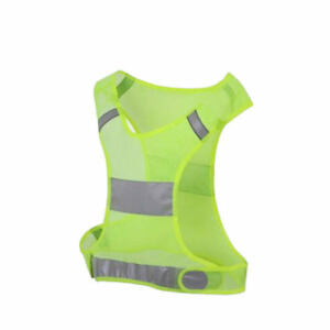 Home Security Reflective Vest Safety Reflective Vest Reflective Safety Jacket Breathable Traffic Night Work Security Running Cycling
