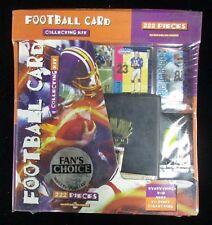 1991 Treat Entertainment Football Card Collecting Kit w/ 222 Pieces NIB