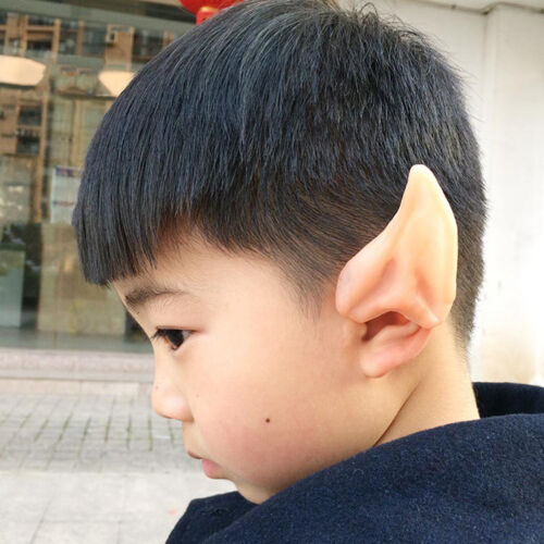 Elf Ears Cosplay Accessories Halloween Party Latex Soft Ear Pip CA