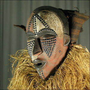 58422-Afrikanische-Ibo-Holz-Maske-Nigeria-Afrika-KUNST