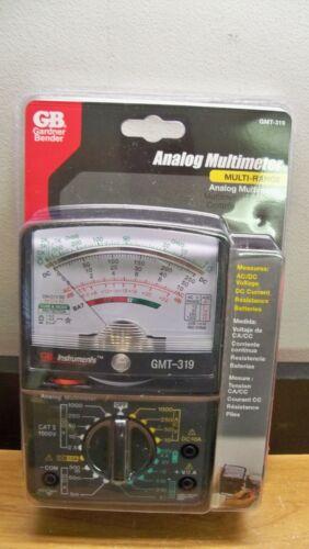 NEW GARDNER BENDER GMT-319 ANALOG MULTIMETER AC//DC BATTERY 20 POSITION 1STCLSS/&H