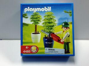Playmobil-4485-Gardener-Hedge-Trimmer-City-Life-City-Life-Sealed-NIB