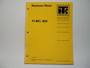 thermo king flexible metro bus maintenance manual t3 m27 m33 rh ebay com