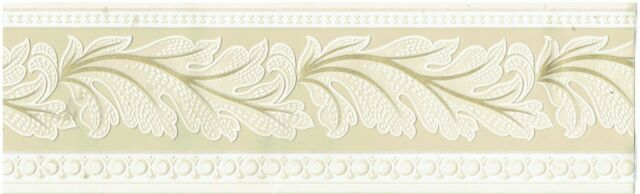 TANNED VICTORIAN CROWN MOULDING OLD AGE DESIGN Wallpaper bordeR Wall Decor