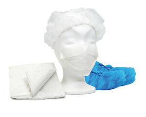 Adaptable 10 Maimed Sarm-set Besucherset Stationsset Vêtements De Protection Masque Beret Capot-afficher Le Titre D'origine Prix RéDuctions