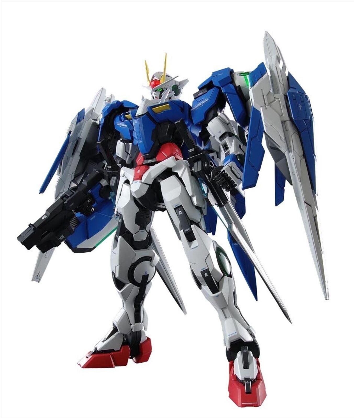 Bandai PG 1 60 GN-0000+GNR-010 Gundam 00 Raiser Plastic Model Kit