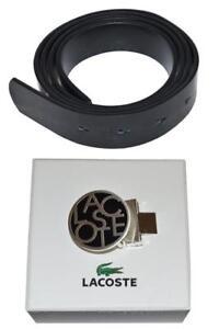 13079b728a5cc Lacoste Women s Leather Patent Belt Black with 1 Lacoste Print Belt ...