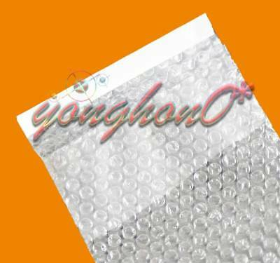 "3/"" x 5/""/_80 x130+20mm 50-300pcs Clear Small Bubble Cushioning Packing Pouches Bag"
