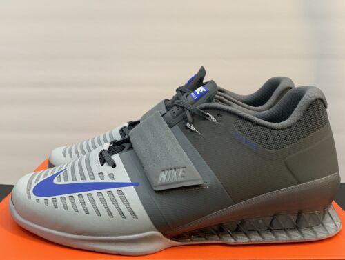 Romaleos Nike 13 Gris talla hombre 3 con pesas para entrenamiento de Calzado Crossfit Td1rwdx