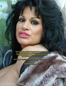 Vanessa-del-Rio-ADULT-Star-PHOTO-Sexy-2001-VERY-RARE-Sign-AFT-BUY-w-COA