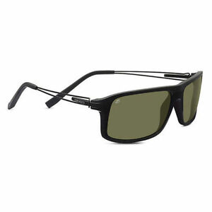 91e9c0f05074 Image is loading Genuine-POLARIZED-SERENGETI-RIVOLI-Shiny-Satin-Black-555NM-
