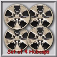 2011-2012 17 Ford Explorer Replacement Hubcaps, Set Of 4 Chrome Wheel Covers