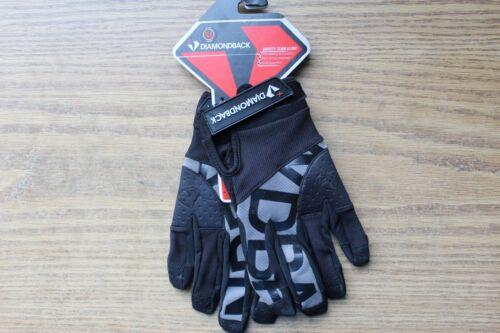 XL DiamondBack Varsity Team MTB Gloves Full Finger Performance BMX Bike Glove