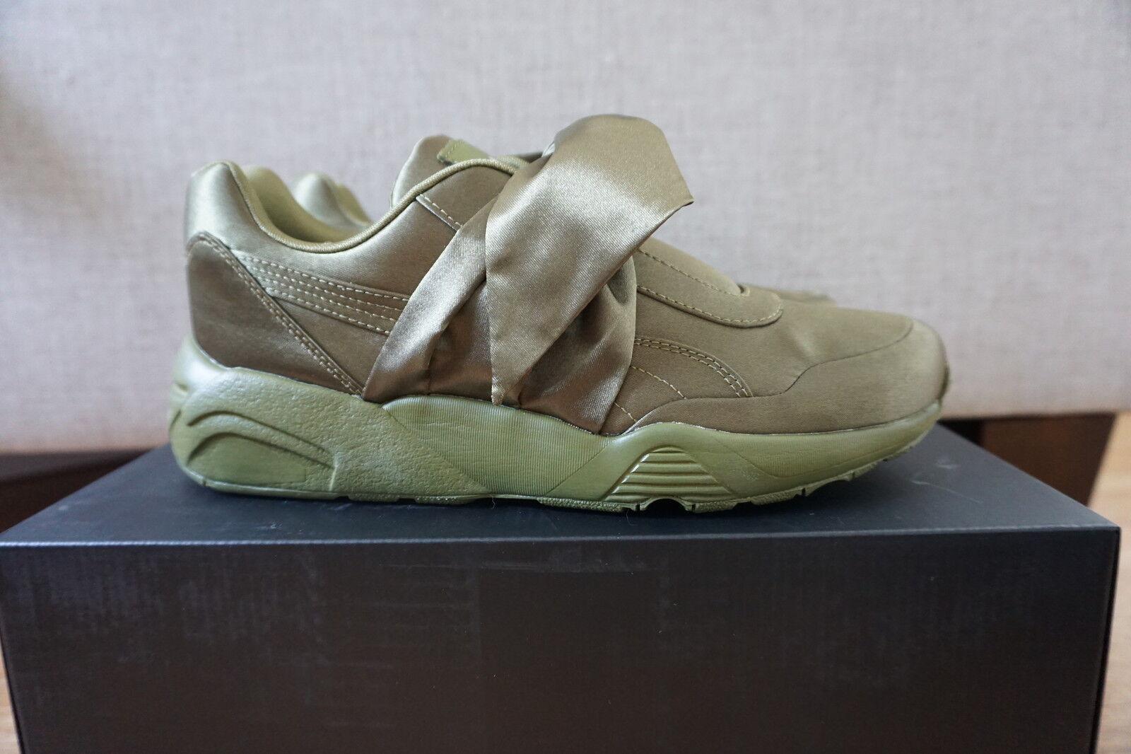 Puma 4 X Rihanna Fenty Bow Sneaker Olive UK3 3.5 4 Puma 4.5 5 5.5 6 468a92