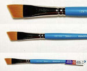 1//4-Inch Princeton Artist Brush Select Synthetic Angular Shader Brush