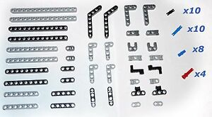 Lego Technic Connector Parts Lot Set of 72 Pieces