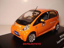 1:43 J-Collection Mitsubishi I-Miev Embassy Car 2010 orange