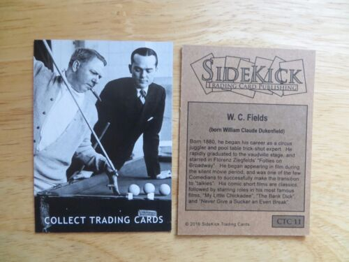 2016 SIDEKICK WC FIELDS PROMO PHILLY NON-SPORT CARD SHOW CTC11