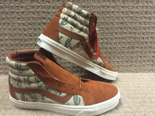 Hombre desierto Zapatos Vaquero Vans Sk8 Carey hi Reissue Tqd8vwE