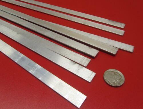 "1//16/"" 6061 T6 Aluminum Bar .062/"" Thick x 1//2/"" Wide x 36/"" Length 8 pcs"