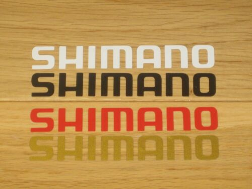 2 Shimano Cycling Stickers Printed Frame Forks Box Phone Decals bike