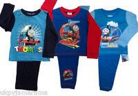 Babies Baby Boys Thomas The Tank Engine Long Pyjamas Age 1 2 3 4 5 yrs NEW