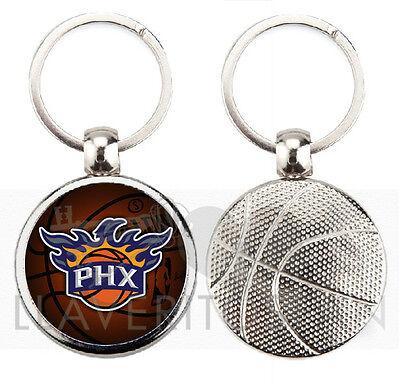 Ambizioso Phoenix Suns Nba Basketball Keyring-keychain-portachiavi-porte-cles-llavero Materiale Selezionato
