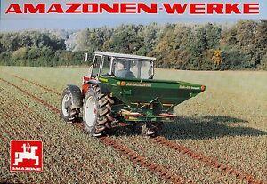 Amazone ZA M Compact Landmaschine Prospekt 6/96 Broschüre 1996 Katalog Europa