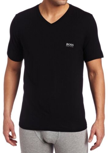 NEW MEN/'S HUGO BOSS MODAL PAJAMA TOP UNDERWEAR LOUNGEWEAR SHIRT BLACK 502114175