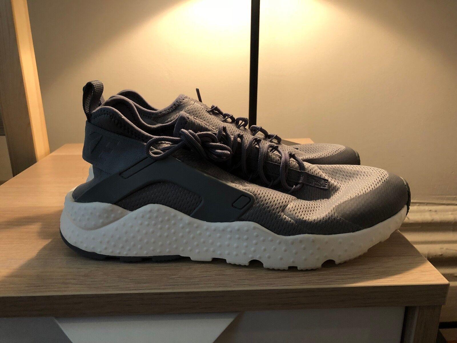 Nike Air Huarache Run Ultra Running Shoes Cool Grey/Summit White 9.5