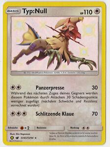 Pokemon-Verborgenes-Schicksal-SV-45-94-Shiny-Typ-Null-Deutsch-Neu-Rare