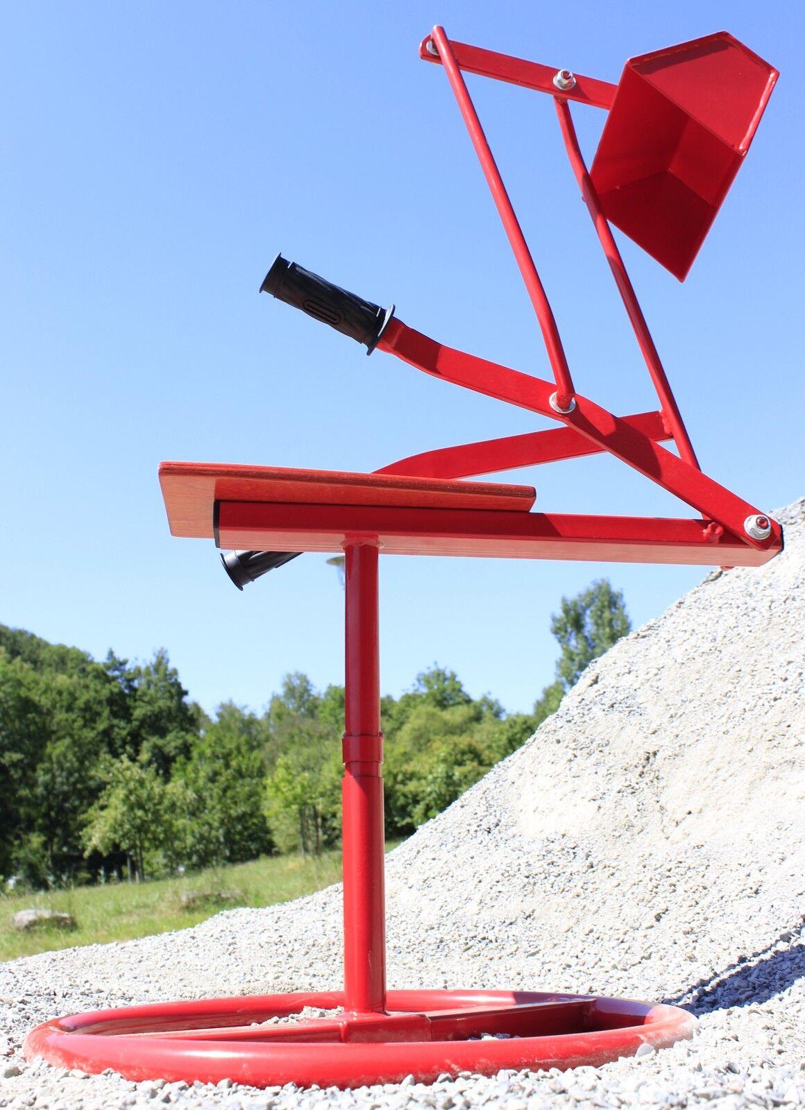 SITZBAGGER Metall Riesen-Sandbagger bis 50Kg belastbar