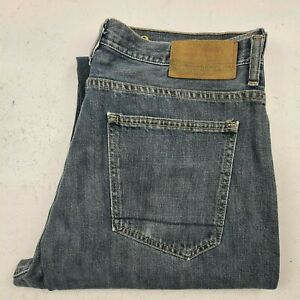 Men-039-s-Nautica-Jeans-Size-34-x-32-Relaxed-Fit-Blue-Denim-Zip-Fly-MG39