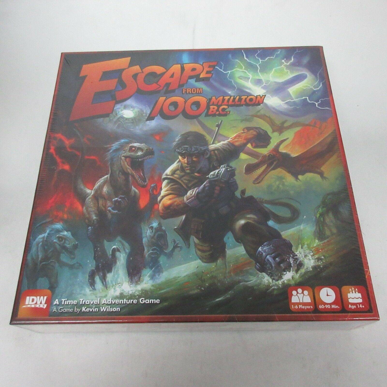 IDW Games Escape from 100 Million B.C. Board Game NEW