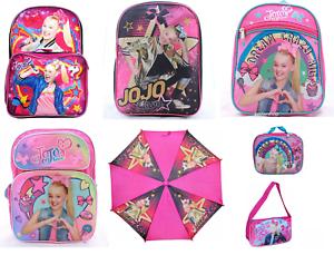 JoJo Siwa Little Girls School Backpack Book bag Lunch box Pink Toddler Cute Kids