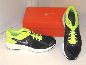 d285fe7fc1a5 Nike Dart 10 X Running Cross Training Navy Volt Athletic Sneakers ...