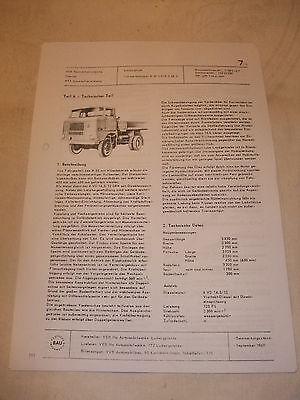Literatur Ddr Reklame Prospekt Datenblatt Dreiseitenkipper W 50 La/k 3 Sk 5 Veb Ifa 1968 Halten Sie Die Ganze Zeit Fit Kataloge & Prospekte