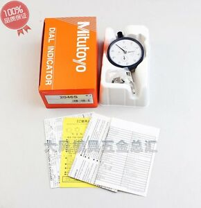 New-Mitutoyo-2046S-Dial-Indicator-0-10mm-X-0-01mm-Grad-hot-Free-shipping