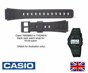 Genuine Casio Bracelet De Montre Bande Pour JC 30 W 59 W 64  TSoLP