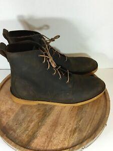 Clarks-Original-Mens-Desert-Mali-Boot-Beeswax-Jaune-Miel-26137705-Boot-Size-13
